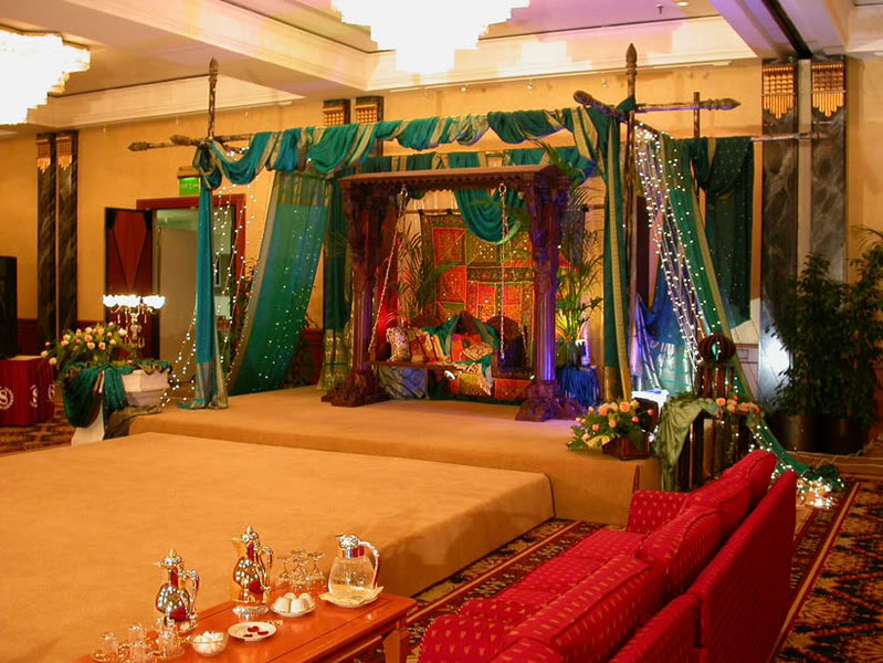 Peacock Themed Indian Wedding Reference Wedding Decoration