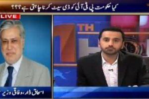 Views on News: ARY 11th Hour Called Ishaq Dar