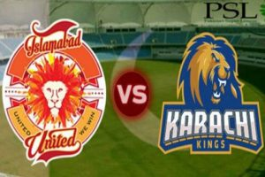 PSL4: Karachi Kings vs Islamabad United