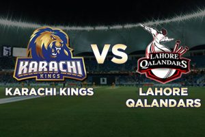 PSL4: Karachi Kings vs Lahore Qalandars