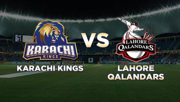 PSL4: Karachi Kings vs Lahore Qalandars