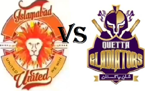 PSL4: Islamabad United vs Quetta Gladiators