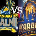 PSL4: Peshawar Zalmi vs Karachi Kings