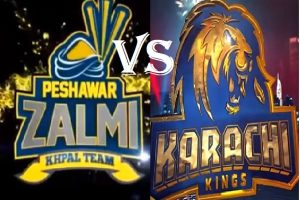 PSL4: Peshawar Zalmi vs Karachi Kings