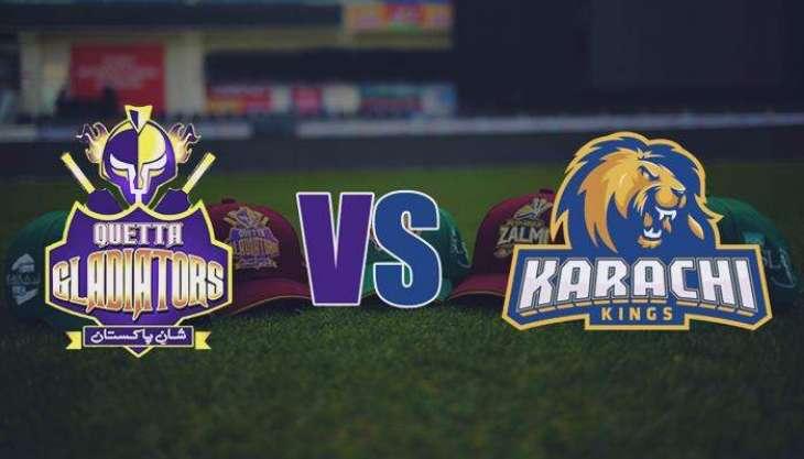 PSL4 - Karachi Kings vs Quetta Gladiators