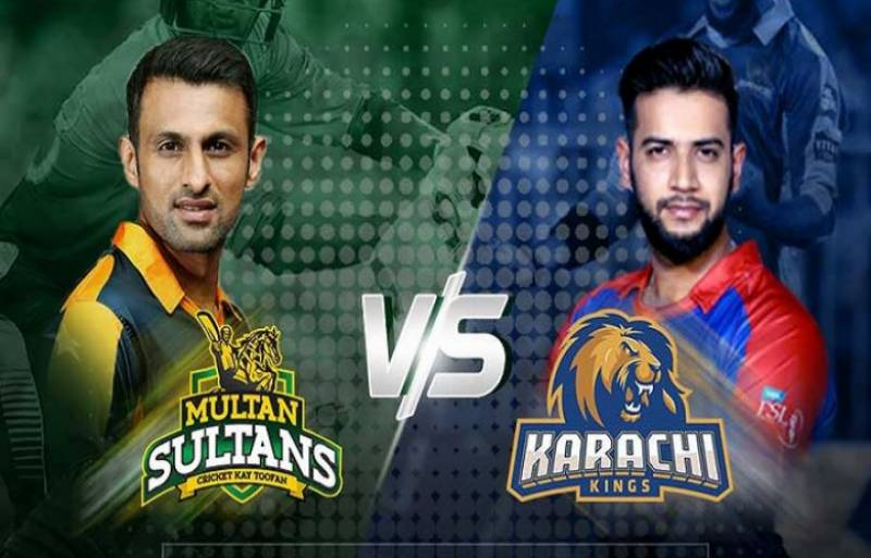 PSL4: Karachi Kings vs Multan Sultans